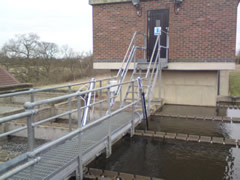 In-situ turbidity measurement within clarifier at Essex & Suffolk Water