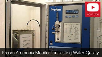 Proam Ammonia Monitor for testing water quality